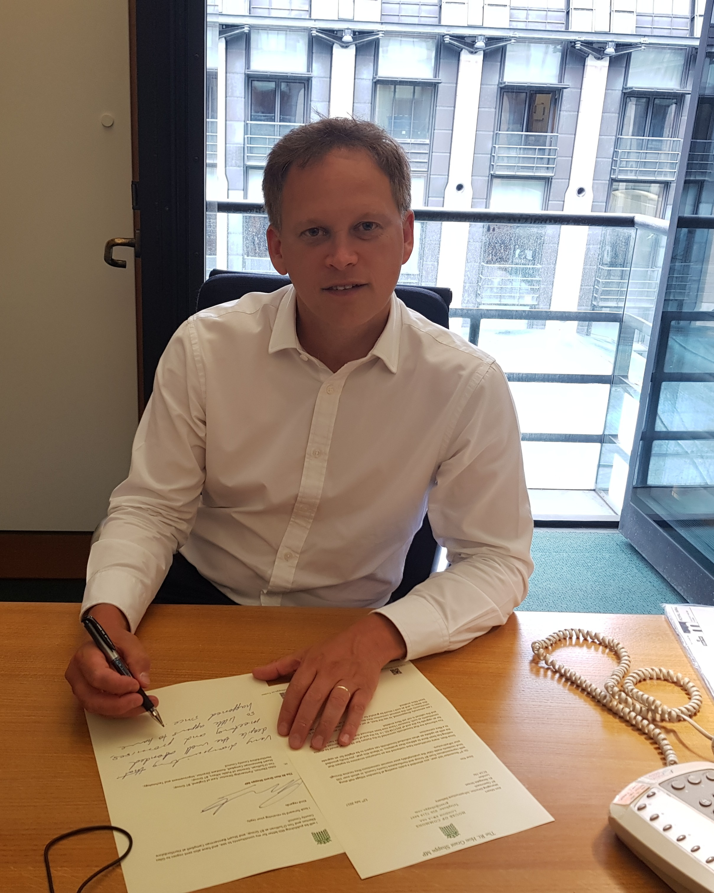 Shapps demands answers from Openreach