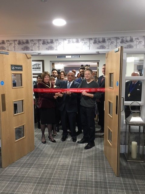 Grant officially opens new care home in WGC