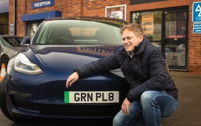 WGC Becomes Location for First Ever Green Number Plate